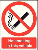 Safety Sign A5 No Smkng Law/Premis S/A