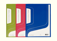 Keba Presentation Folder Assorted Pk3