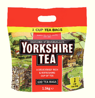 Yorkshire 1 Cup Tea Bags 1108 Pk600