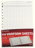 Variform V4 14Column Cash Refill 75934
