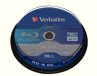 Verbatim Blu-ray 50GB BD-R Spindle Pk10