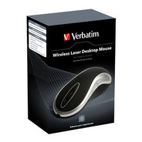 Verbatim Laser Desktop Mouse Black 49015